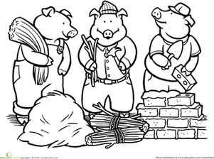 coloring pages fairytales - photo#14